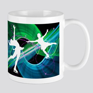 Bedazzled Figure Skaters Mugs