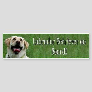 labradorbumpersticker4 Bumper Sticker