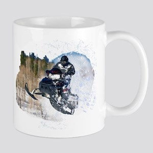 Airborne Snowmobile Mugs