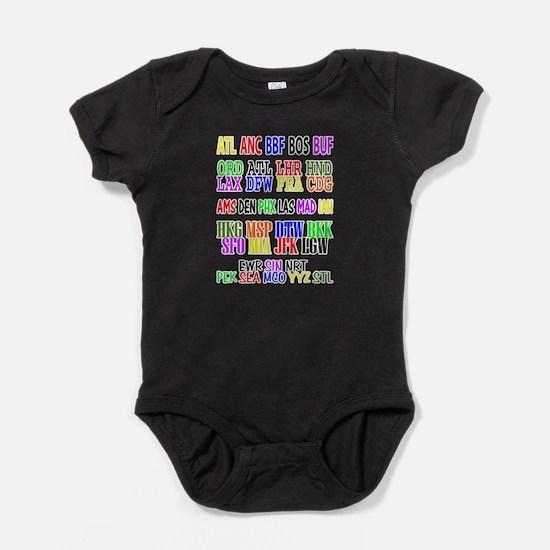 Cute Flight attendant Baby Bodysuit