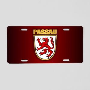 Passau Aluminum License Plate