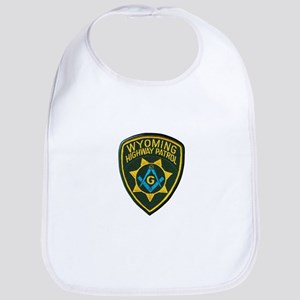 Wyoming Highway Patrol Mason Bib