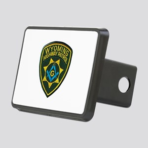 Wyoming Highway Patrol Mason Hitch Cover