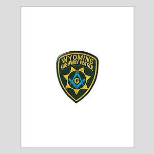 Wyoming Highway Patrol Mason Posters