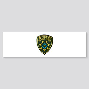 Wyoming Highway Patrol Mason Bumper Sticker