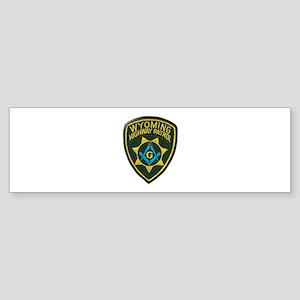 Wyoming Highway Patrol Mason Bumper Sticker