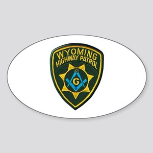 Wyoming Highway Patrol Mason Sticker