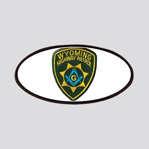 Wyoming Highway Patrol Mason Patch