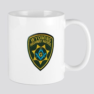 Wyoming Highway Patrol Mason Mugs