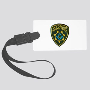 Wyoming Highway Patrol Mason Luggage Tag