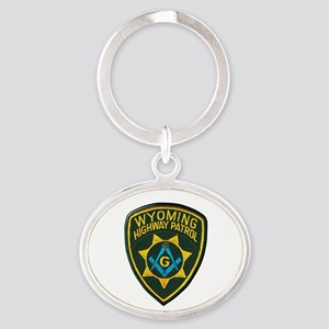 Wyoming Highway Patrol Mason Keychains