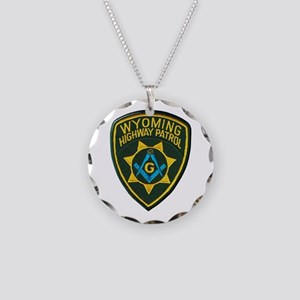 Wyoming Highway Patrol Mason Necklace