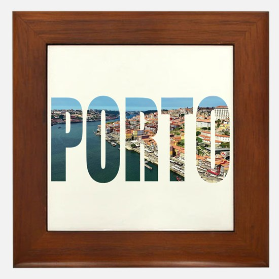 Porto Framed Tile