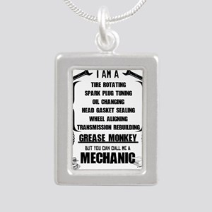 Call me Mechanic Necklaces