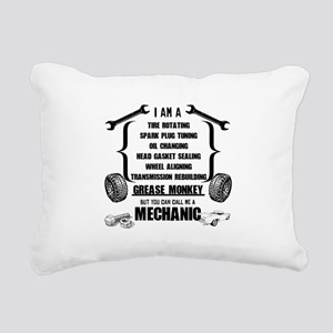 Call me Mechanic Rectangular Canvas Pillow
