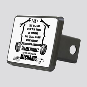 Call me Mechanic Rectangular Hitch Cover