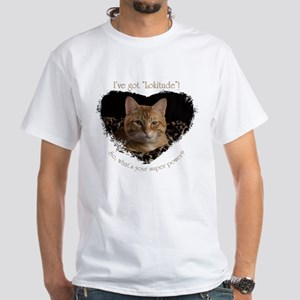 """Lokitude"" White T-Shirt"