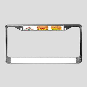 kawaii food License Plate Frame