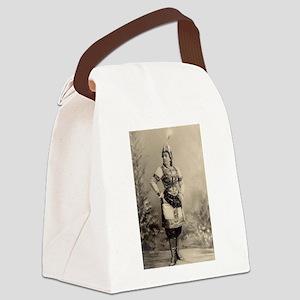 lydia zvyagina Canvas Lunch Bag