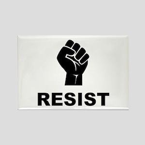 Resist Fist Black Magnets