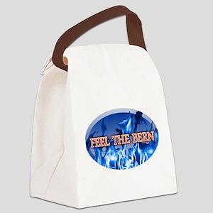 FEEL THE BERN 2020 BERNIE Canvas Lunch Bag