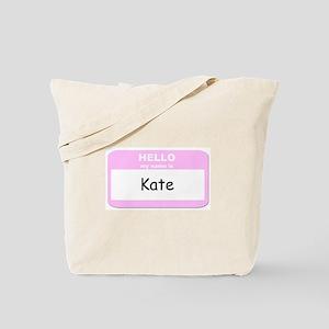 My Name is Kate Tote Bag