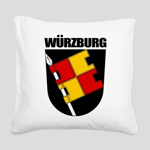 Wurzburg Square Canvas Pillow