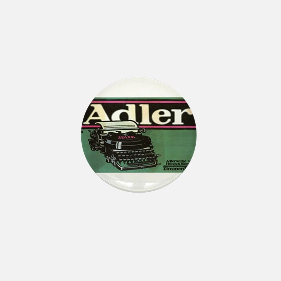 Vintage poster - Adler Typewriters Mini Button