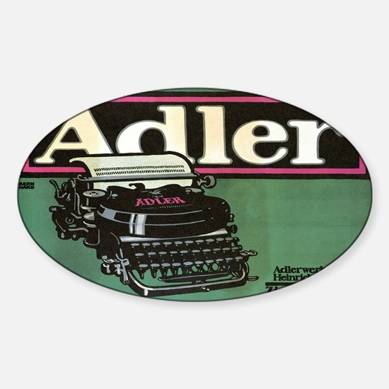 Vintage poster - Adler Typewriters Decal