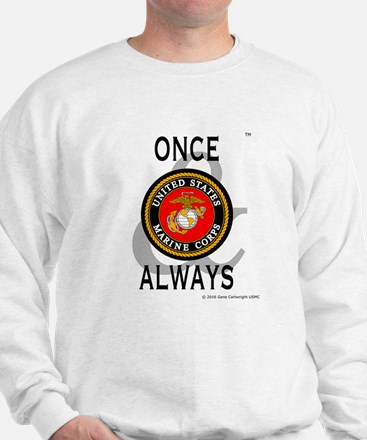 Always a Marine Sweatshirt