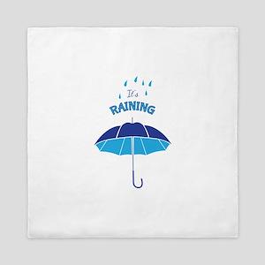 Its Raining Queen Duvet