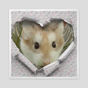 Peep Hole Hamster Queen Duvet