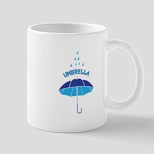 Rain Umbrella Mugs