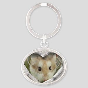 Peep Hole Hamster Keychains