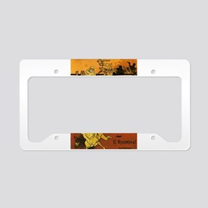 opera art License Plate Holder