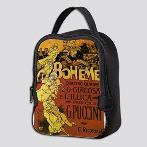 opera art Neoprene Lunch Bag