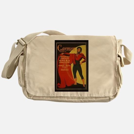 opera art Messenger Bag