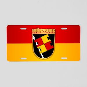 Wurzburg Aluminum License Plate