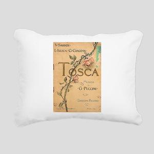 opera art Rectangular Canvas Pillow
