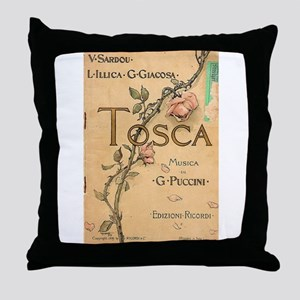 opera art Throw Pillow