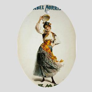 opera art Oval Ornament