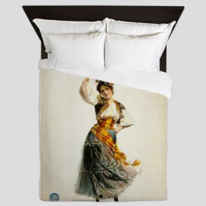 opera art Queen Duvet