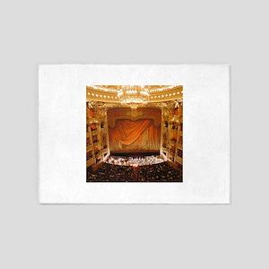 opera art 5'x7'Area Rug