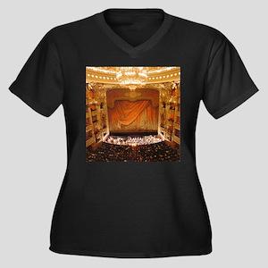 opera art Plus Size T-Shirt