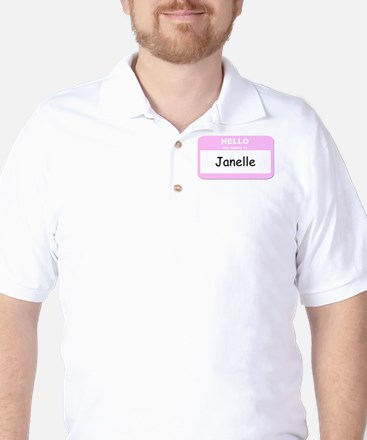 My Name is Janelle Golf Shirt