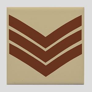 British Sergeant<BR> Tile Coaster 3