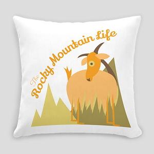 Rocky Mountain Life Everyday Pillow