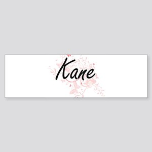Kane surname artistic design with B Bumper Sticker