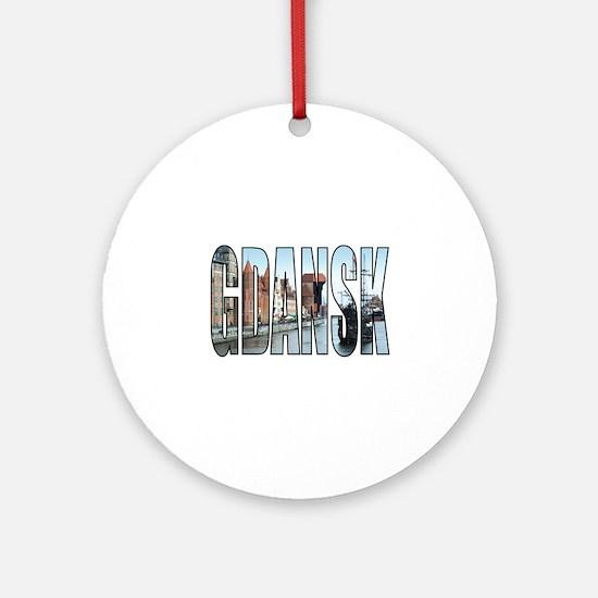 Gdansk Round Ornament