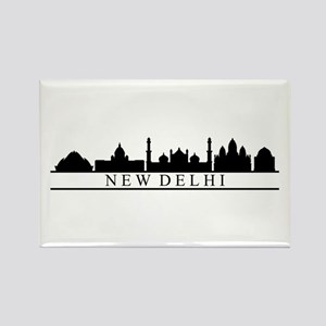 skyline new delhi Magnets